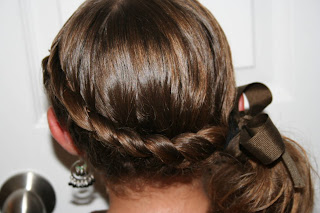 Wrap-Around French Braid