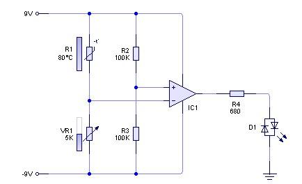 Rangkaian Sensor Suhu Sederhana Belajar Teknik Elektro Robotika