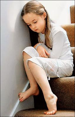 cocuk Evdeki stres, çocuğu hasta ediyor