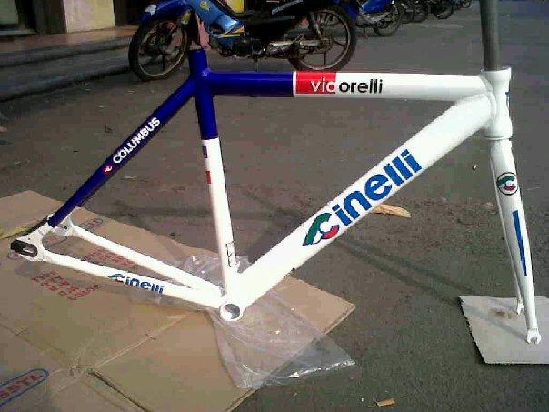 Frame Sepeda Fixie atau Balap | noecycle