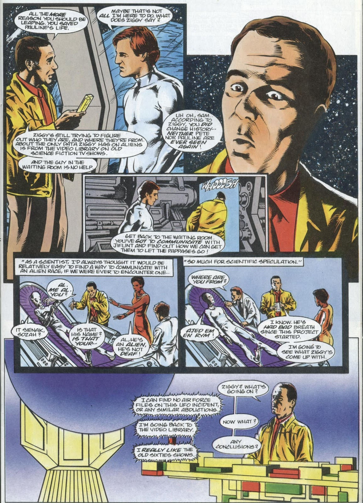 Read online Quantum Leap comic -  Issue #13 - 7