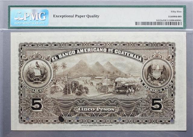 Guatemala Pesos collecting paper money