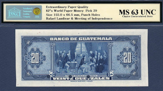 Guatemala Quetzales collecting paper money