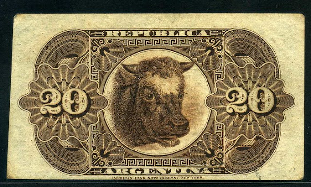 currency Bison note