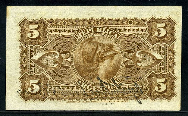 Argentina 5 Centavos banknote