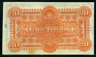 20 Centavos note