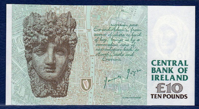 Ireland 10 Pounds banknote