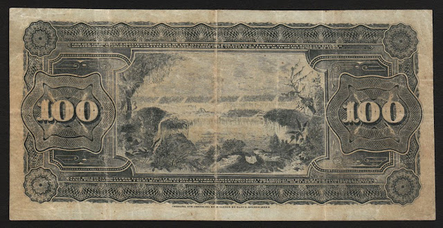 Argentina - 1895 First issue - 100 Pesos Banknote