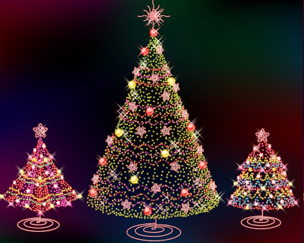 christmas tree. free animated tree pictures