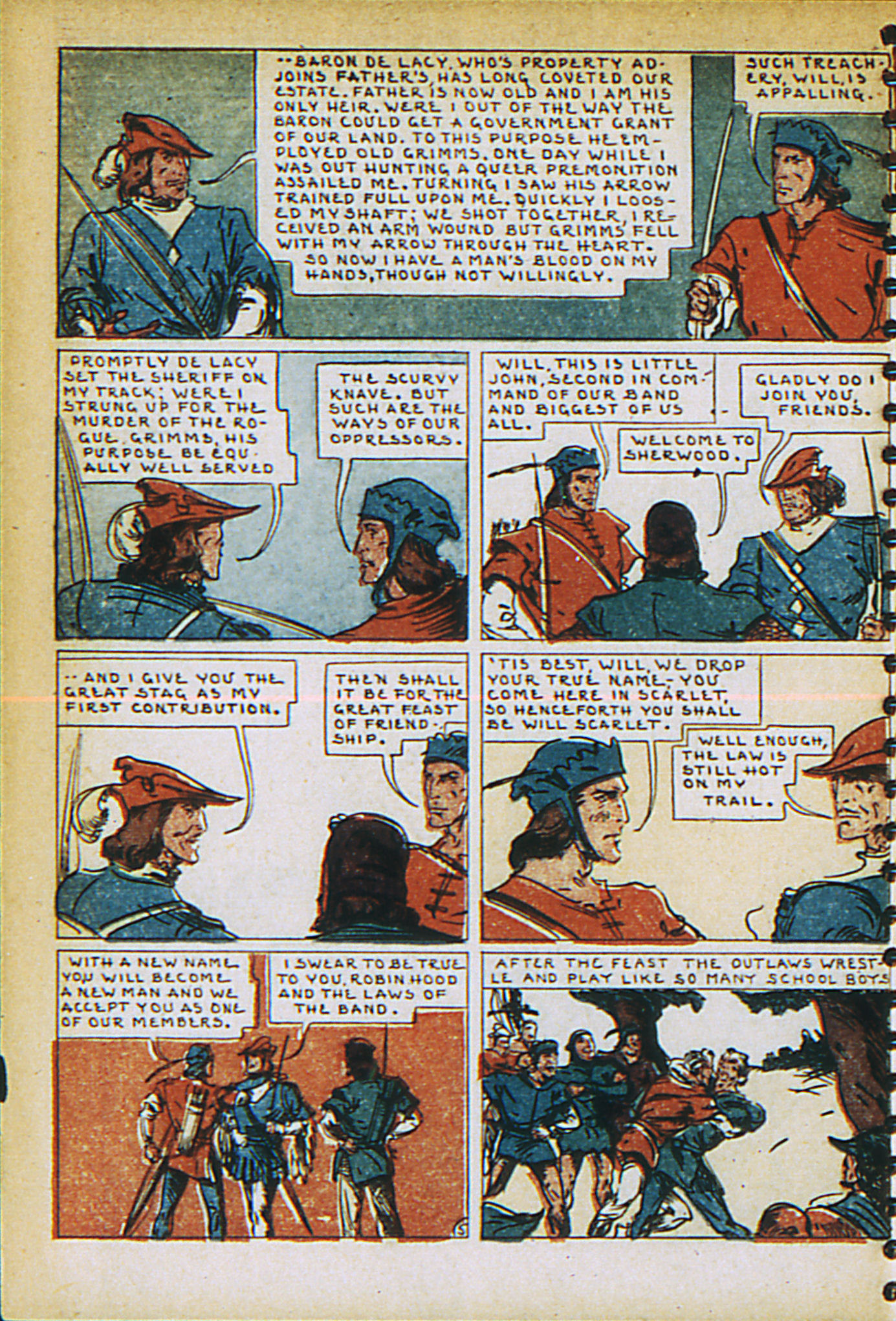 Read online Adventure Comics (1938) comic -  Issue #27 - 54