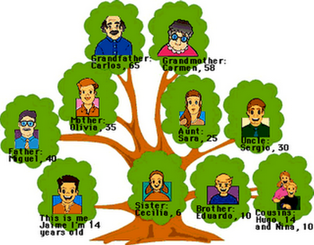 Imagenes De Un Arbol Genealogico Familiar