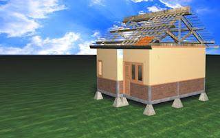 KOntruksi Rumah Tahan Gempa