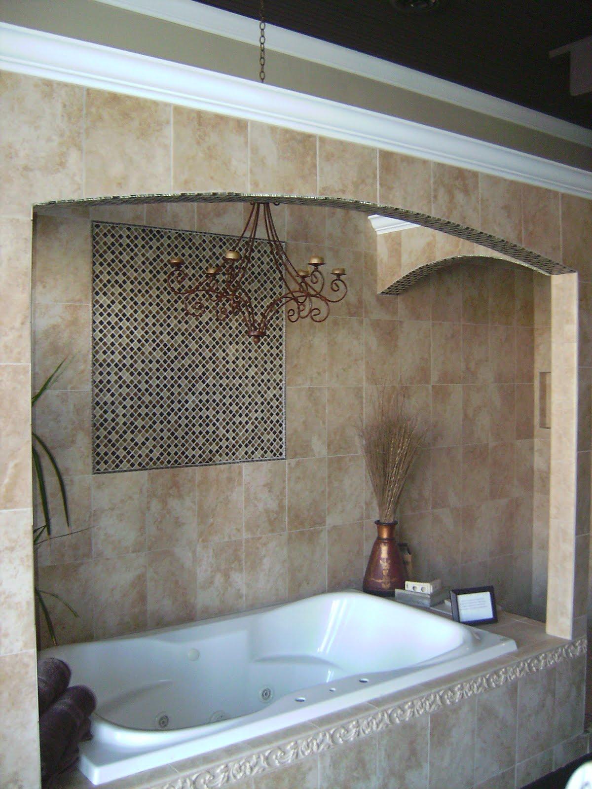 Knapp tile and flooring inc shower tub surround combo - Bathtub shower combo for small bathroom ...