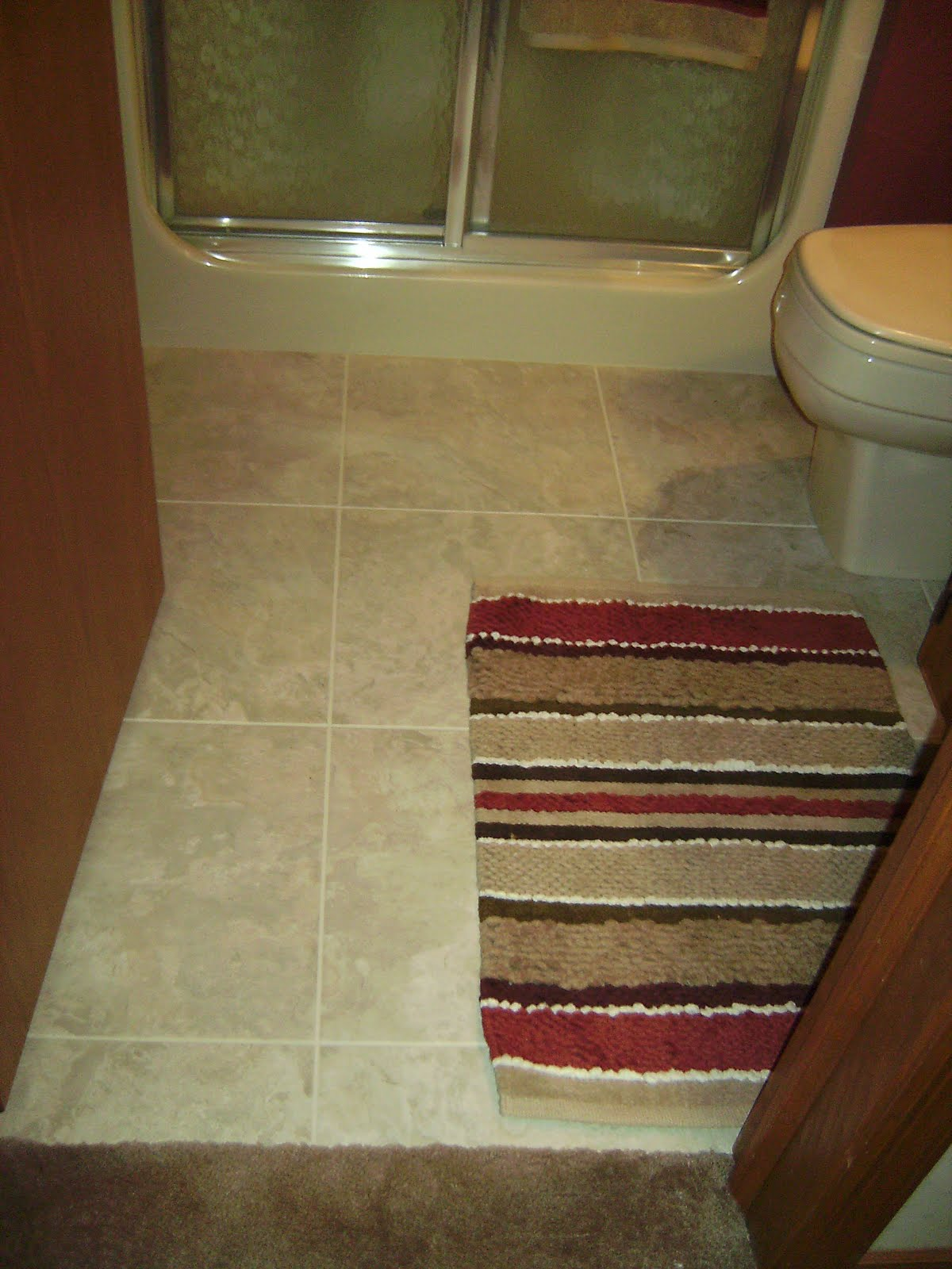 Knapp Tile And Flooring Inc Luxury Vinyl Tile Bathroom