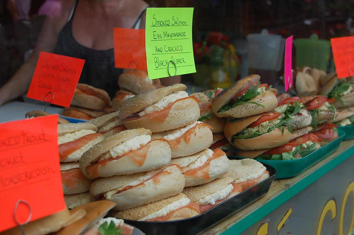columbia road bagels