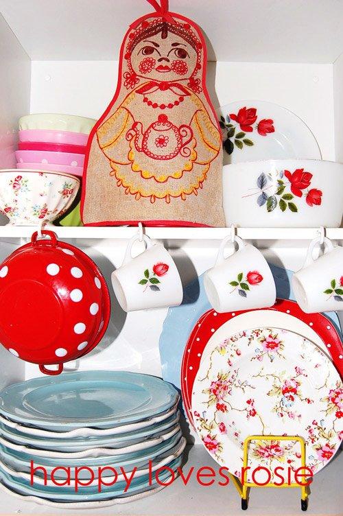happy house plates