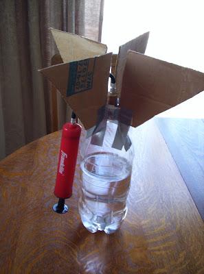 Water Rocket – Lesson Plans