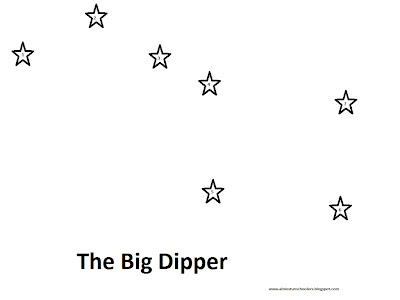 Almost Unschoolers: Constellation Dot-to-Dots