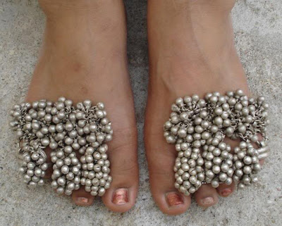 Tribal Jewellery of Rajasthan Toe Rings Jewellery India