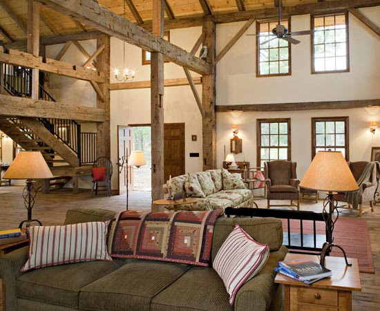 the beautiful mind of mine barn converted into spacious modern home. Black Bedroom Furniture Sets. Home Design Ideas
