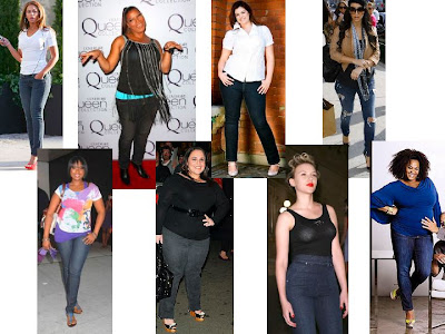 can chubby girls wear skinny jeans
