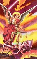 Resultado de imagen para San Miguel, defensor de los moribundos
