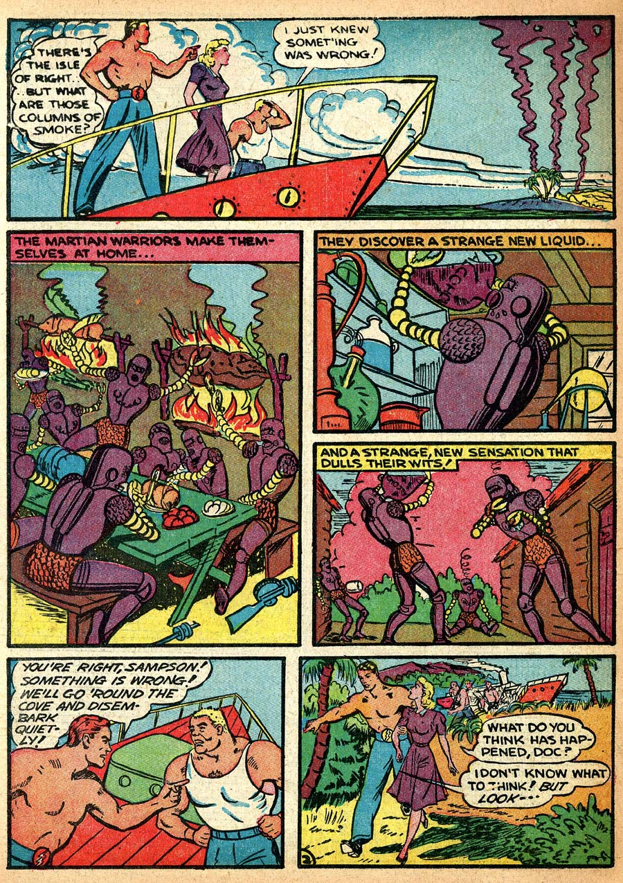 Blue Ribbon Comics (1939) issue 8 - Page 50