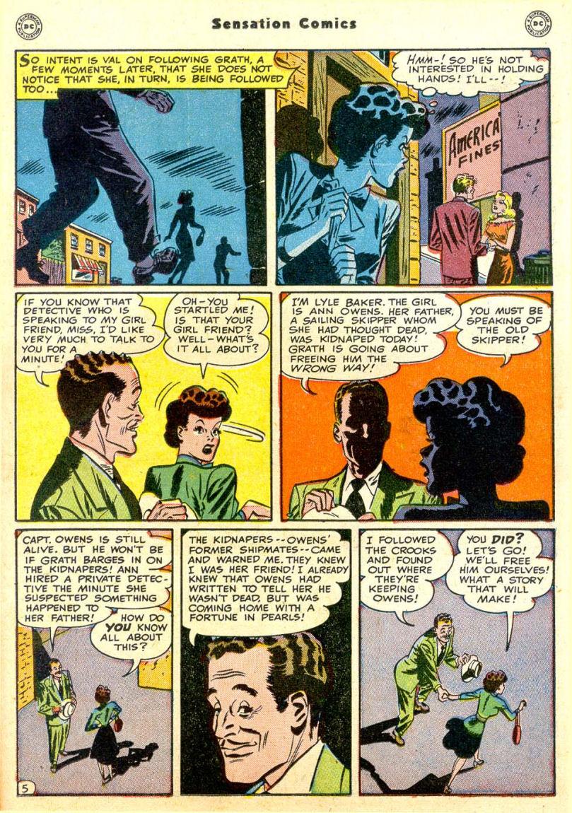 Read online Sensation (Mystery) Comics comic -  Issue #85 - 20