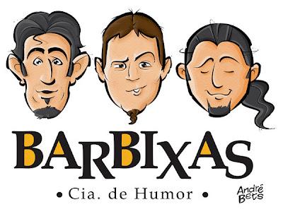 Caricatura dos Barbixas