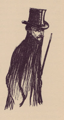 Image by Charles Huard for the first edition of L'Écornifleur by Jules Renard, 1892. Also included in The Sponger, the English translation of the novel