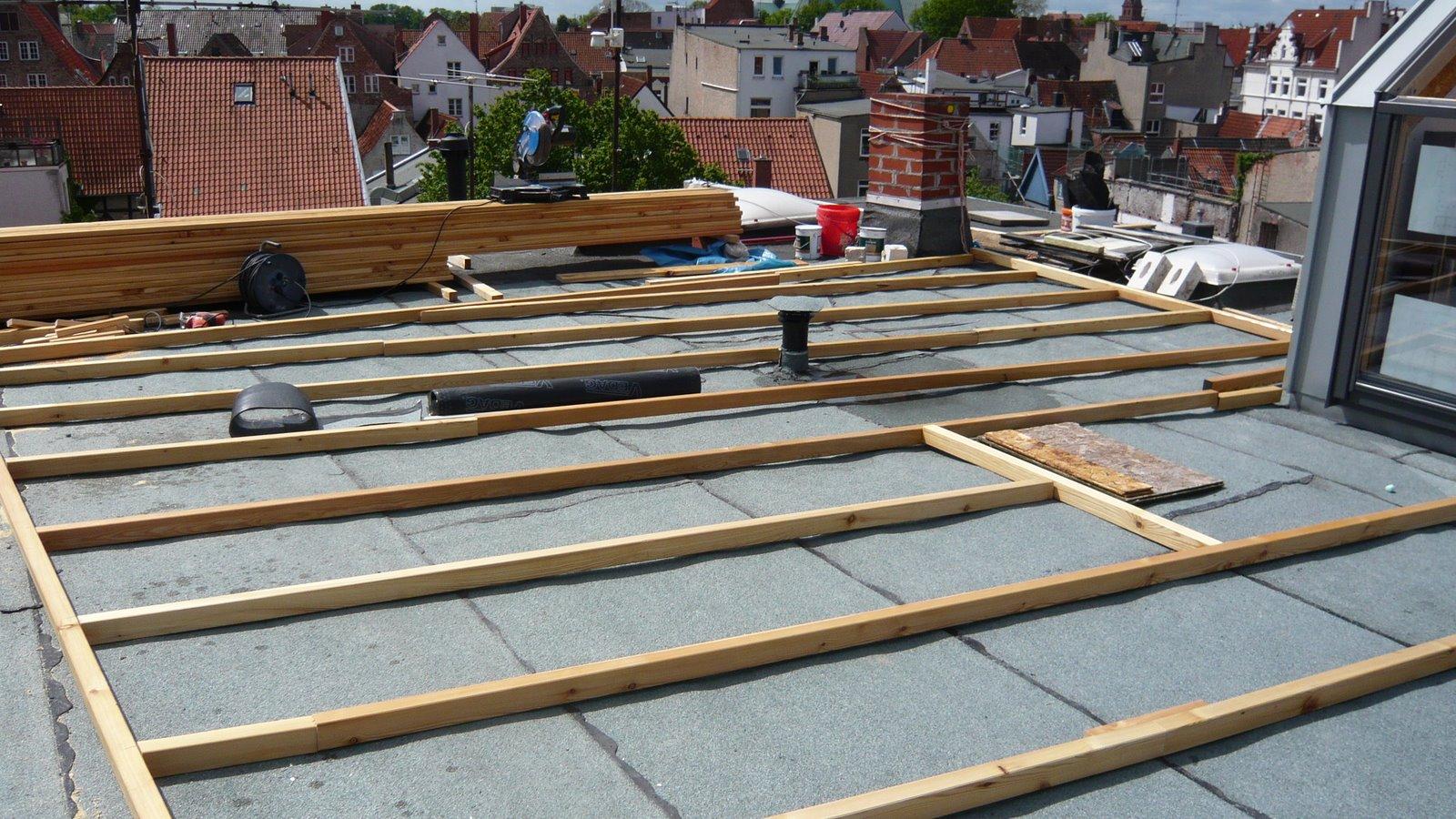 Holz Terrassenplatten