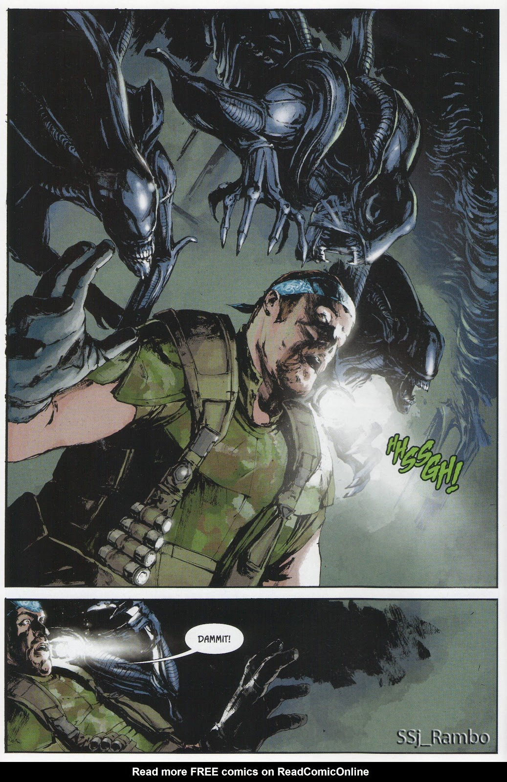 Read online Aliens: Colonial Marines - No Man Left Behind comic -  Issue # Full - 5