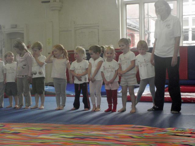 Beany Adventures Big Little Girl Gymnastics
