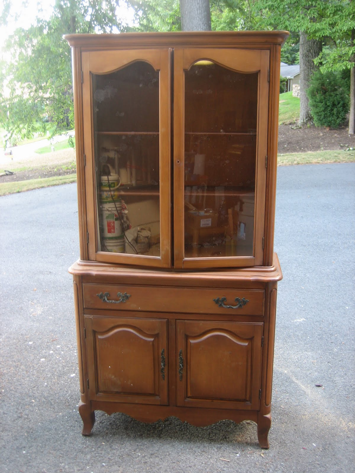 grey china cabinet elizabeth amp co soft gray china cabinet 16083
