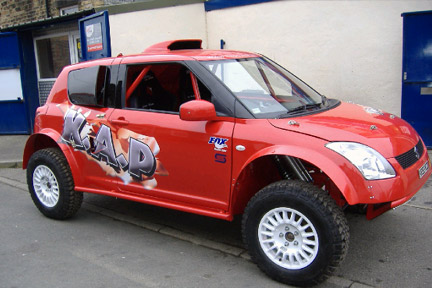 The story of Koh -Swift-: K.A.P Suzuki Off Road Specialist