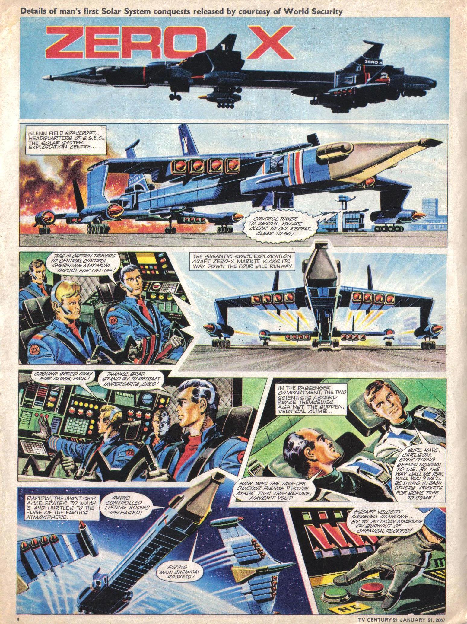 Read online TV Century 21 (TV 21) comic -  Issue #105 - 4
