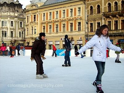 Artificial skating rink-Cluj Napoca