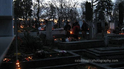 Cemetery on the Day of Dead
