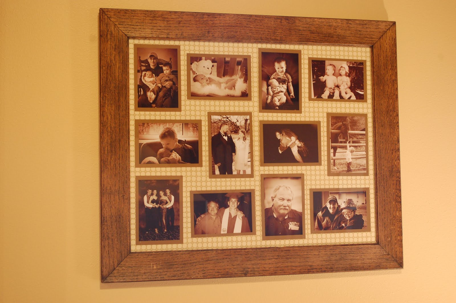 Cheap Custom Frames Online Will Work For Decor Custom Wall Collage Frames Two Ways