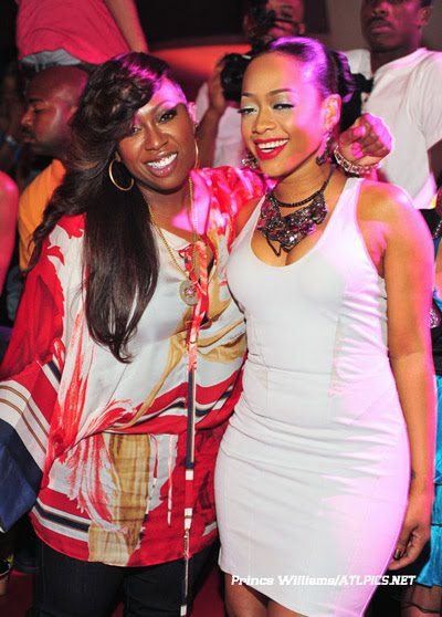 Blazeadams 247 Missy Elliott And Trina At The Velvet Room
