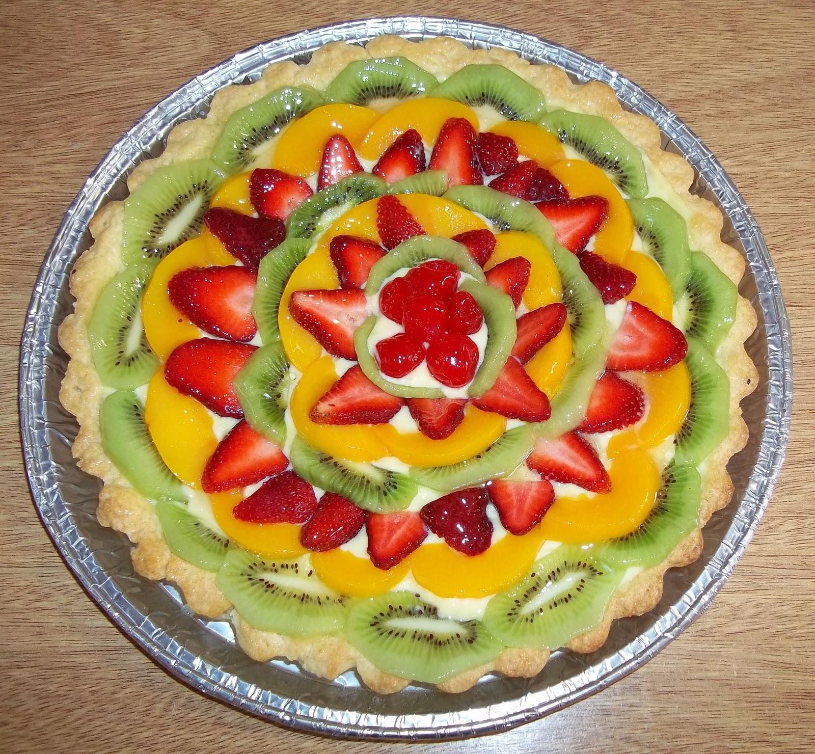Como Decorar Tartas Frutales