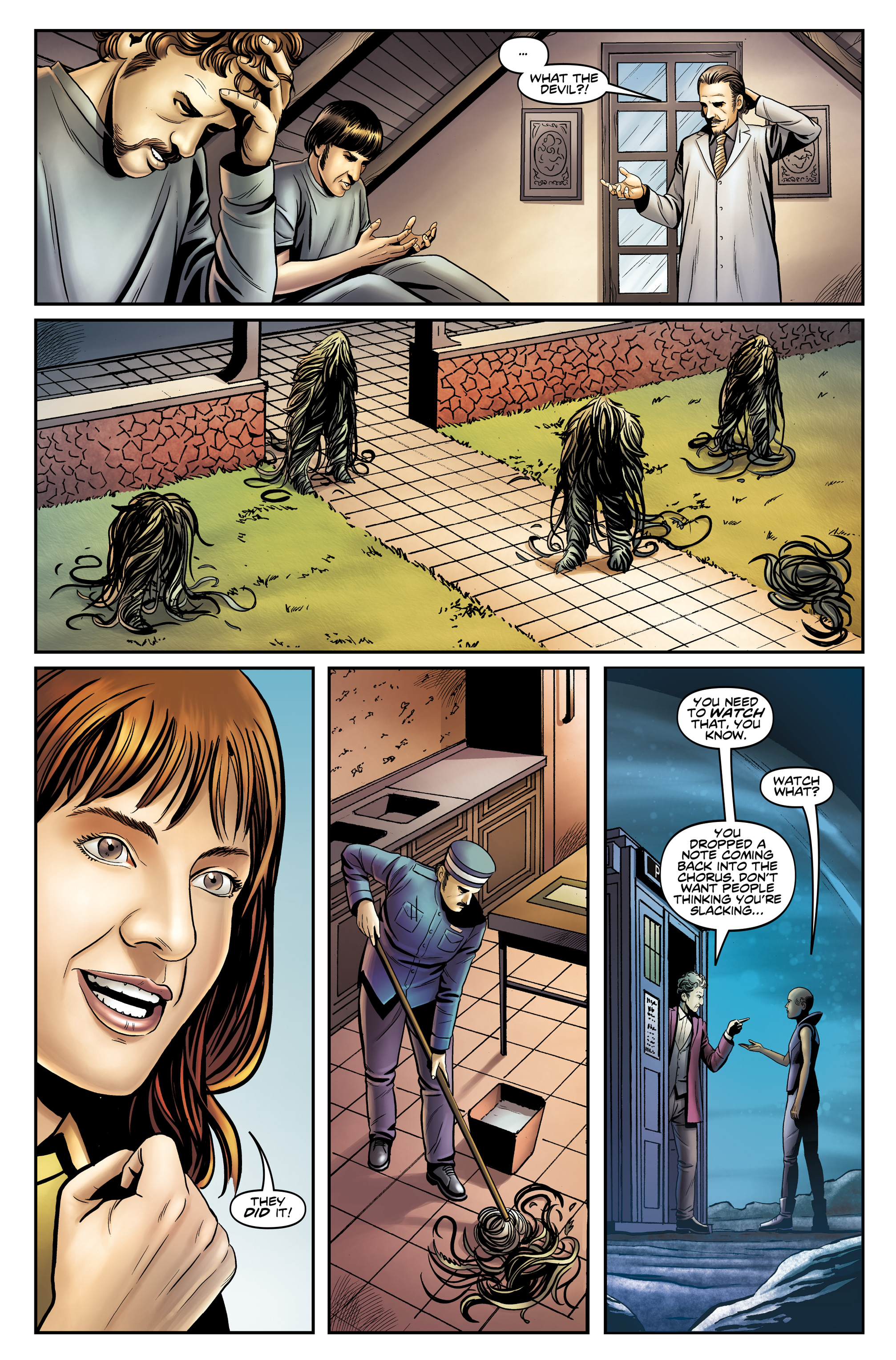 Read online Doctor Who: The Twelfth Doctor Year Three comic -  Issue #4 - 23