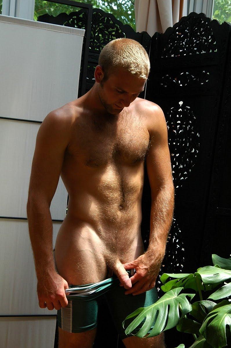 Gay Man In The High Desert More Naked Men Outside-6572