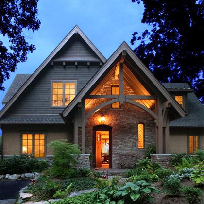 homes design Nestle Down Lake Residence House Design