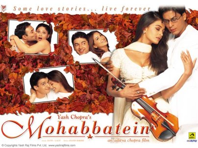 Mr QAZI: Mohabbatein 2000 Untouched Blu Ray