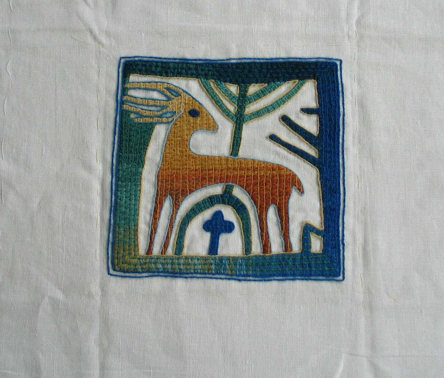 Life before minis - embroidery