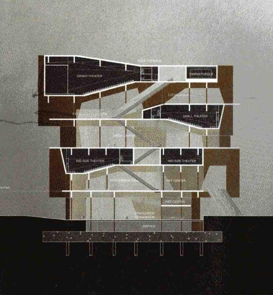arquitectura tres: Busan Cinema Complex - Steven Holl