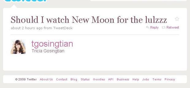 Best New Moon Tweet Ever