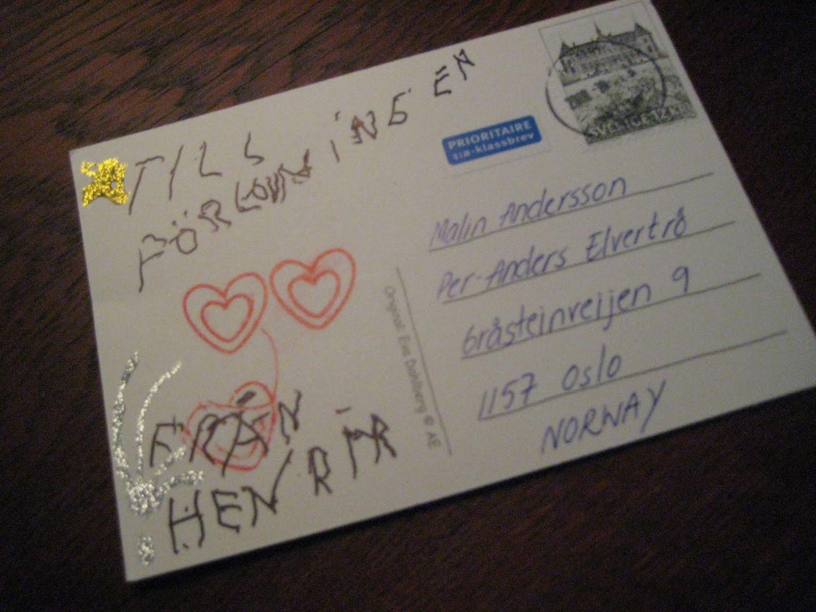 stort grattis till förlovningen malin in sydney: Ett brev på posten!! stort grattis till förlovningen