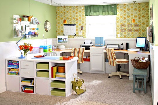 Alkemie a colorful and fun office and hobby room - Alkemie blogspot com ...